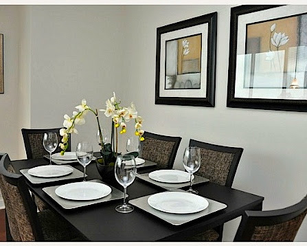 how to stage a dining room table | Dining Room Staging Tips - Leovan Design