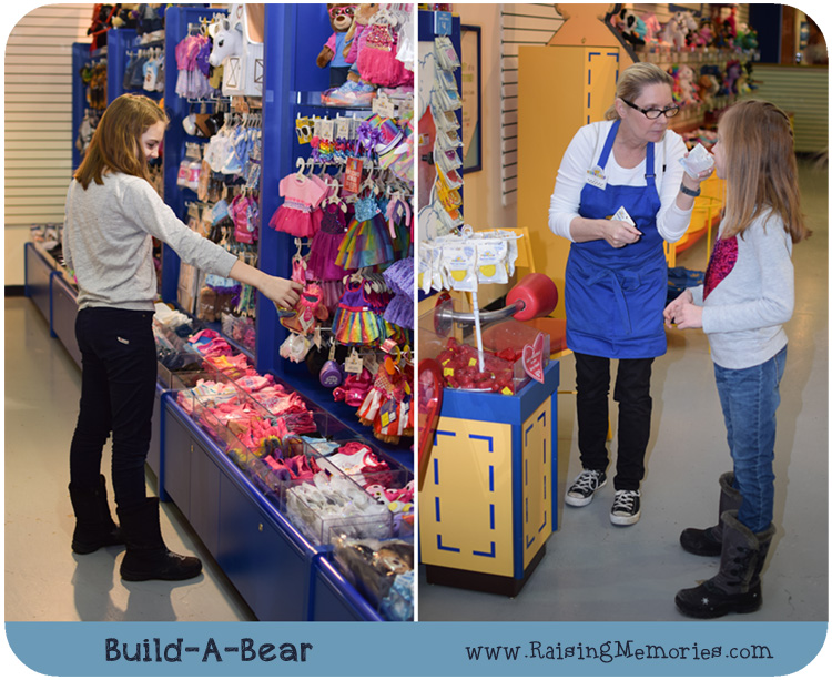 Build A Bear Experience in Detail