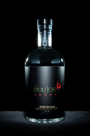 Black-owned BouJae Organic Vodka