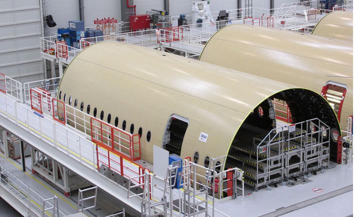 En 2015, la industria aeroespacial en México exportó productos por 7,000 mdd. (Foto: Airbus)