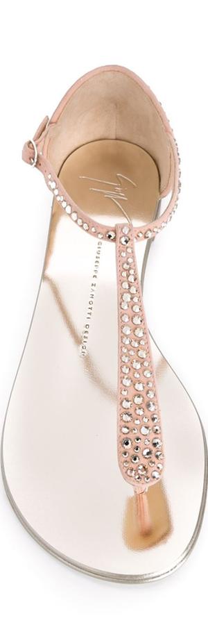 GIUSEPPE ZANOTTI DESIGN  Glitter Sandals