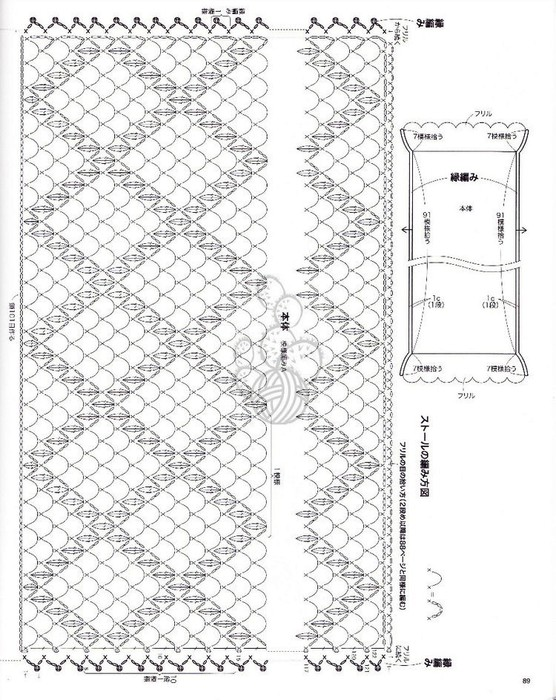 Crochet: Pineapple Stole