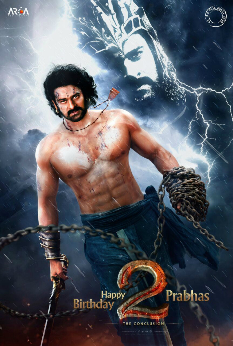 the first look of baahubali 2
