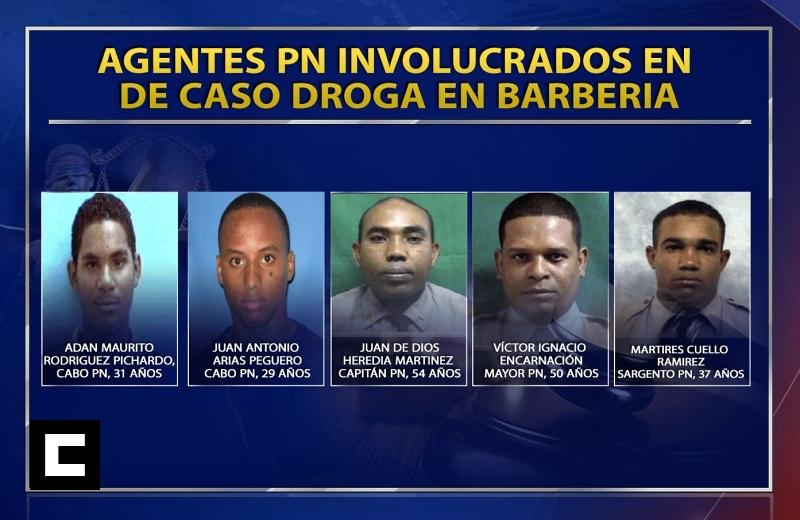 DNCD expulsa policías que allanaron peluquería en Villa Vásquez