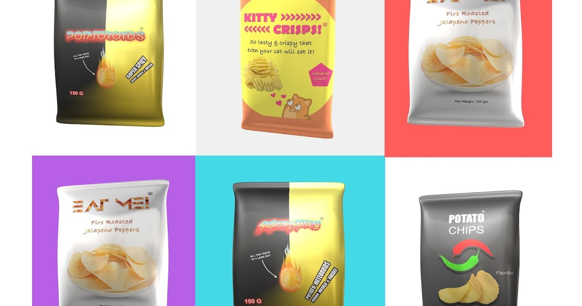 5 Super Cool Creative Brand Names For Potato Chips - Easy