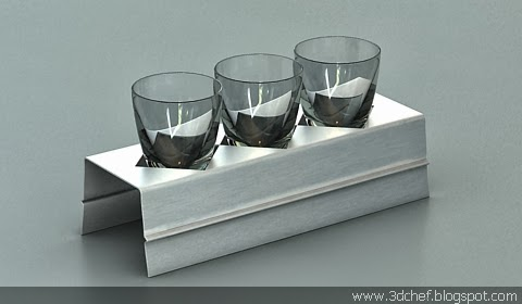 free 3d model glass decor