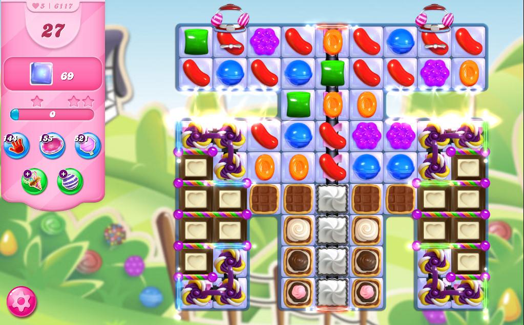 Candy Crush Saga level 6117