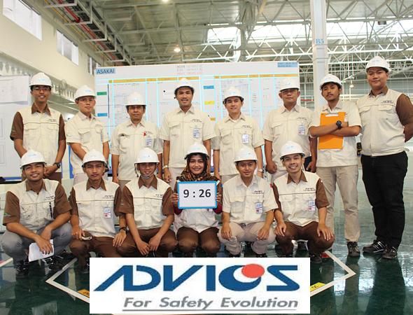 Lowongan Kerja PT. Advics Manufacturing Indonesia, Jobs: Production & Engineering, Education & Training Staff.