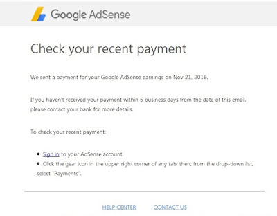 Info Sesat Pembayaran AdSense IDR Via Wire Transfer
