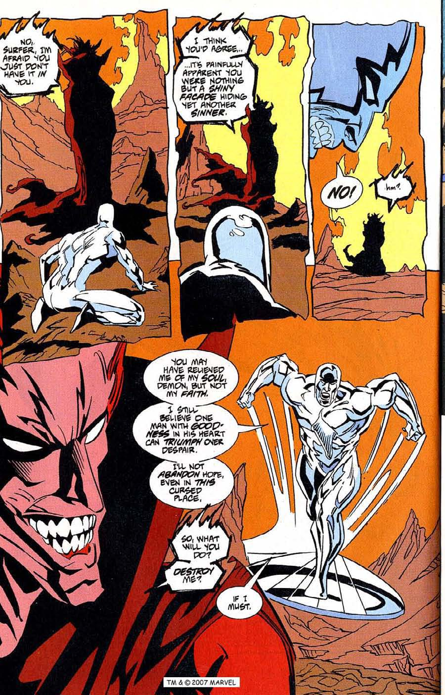 Read online Silver Surfer (1987) comic -  Issue #100 - 34
