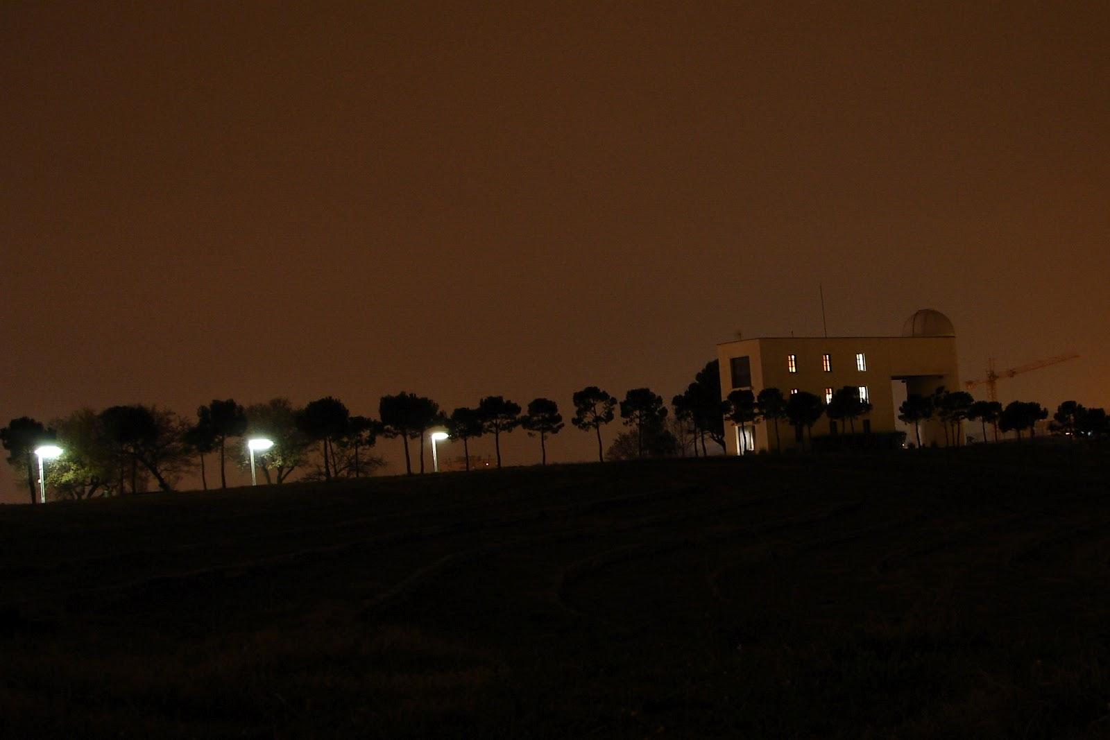 Observatori al parc de Catalunya de l'Agrupació Astronòmica de Sabadell