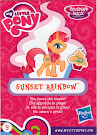 My Little Pony Wave 15 Sunset Rainbow Blind Bag Card