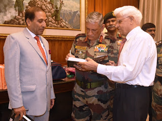 Chief of Army Staff released a book
