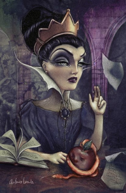 Sirenas con boca de rape: La Malvada Reina Grimhilde