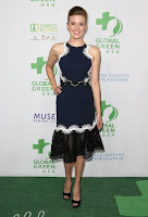 maggie grace global green oscar party red carpet