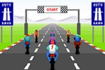 لعبة الدراجات المجنونة
