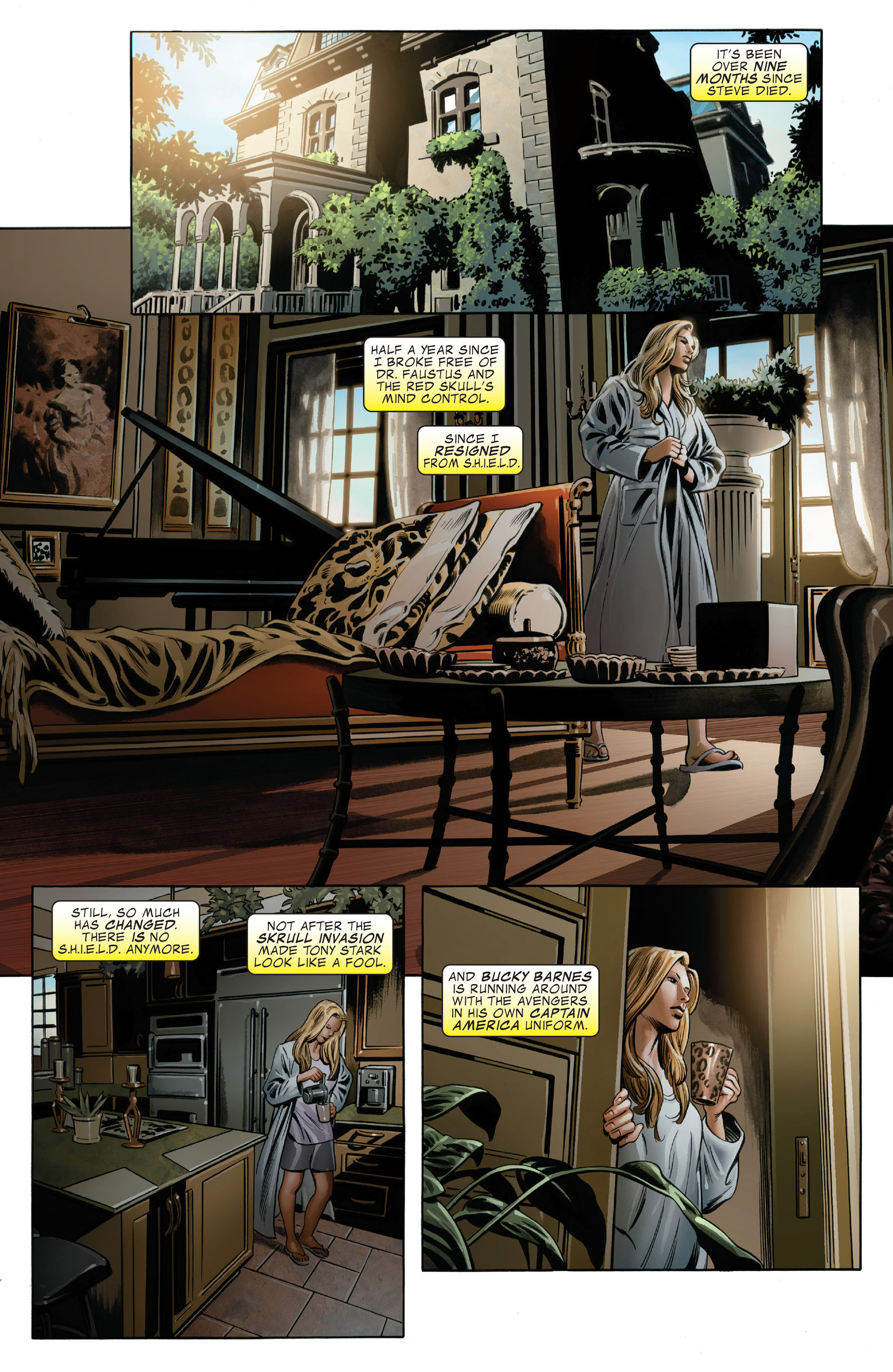 Read online Captain America (2005) comic -  Issue #49 - 6