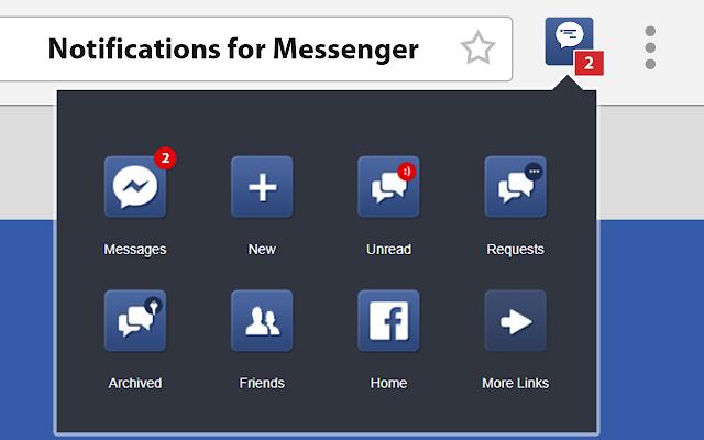 Messenger Quick Links : Uninstall Chrome Extension
