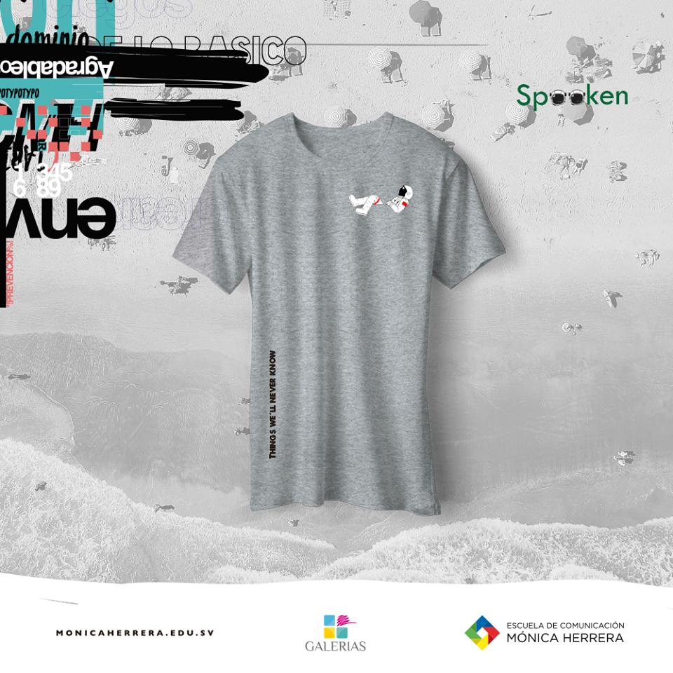 Crea T-Shirt 2017 Escuela de Comunicación Mónica Herrera El Salvador