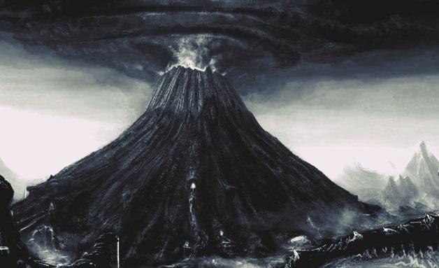 Induk gunung Krakatau di selat Sunda