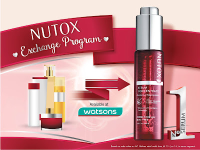 Free Nutox Serum Concentrate Exchange Program Watsons Promo