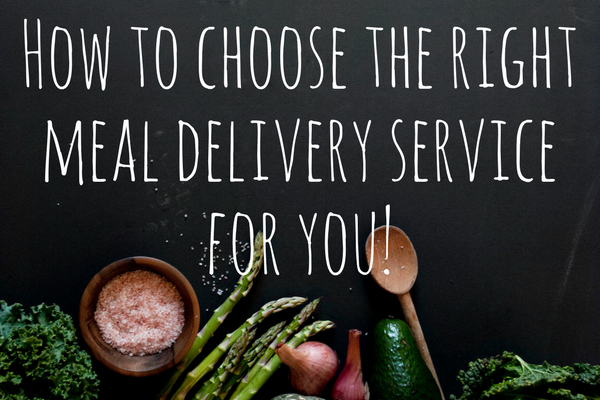 Best meal delivery service options - gluten free, paleo, keto
