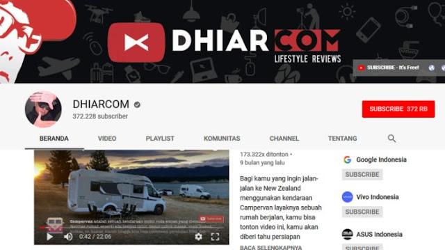 DHIARCOM - Youtube