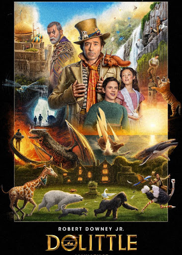 Dolittle 2020 English 720p HDRip 800MB