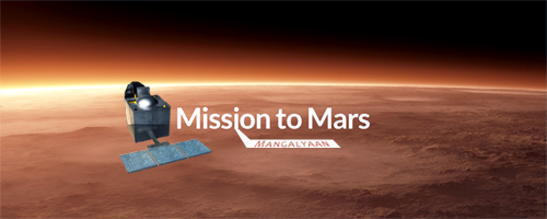mars mission india creates history as mangalyaan - 500×200