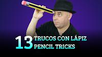 13 Trucos con lápices, MAGIA-CIENCIA