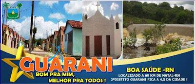 NOSSA HISTÓRIA - A Comunidade de Guarani
