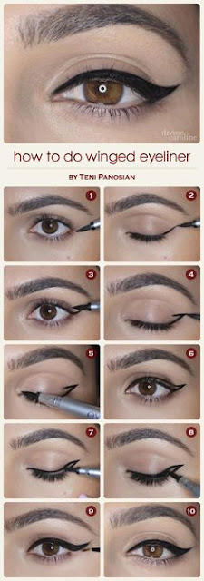 maquillage pin up yeux