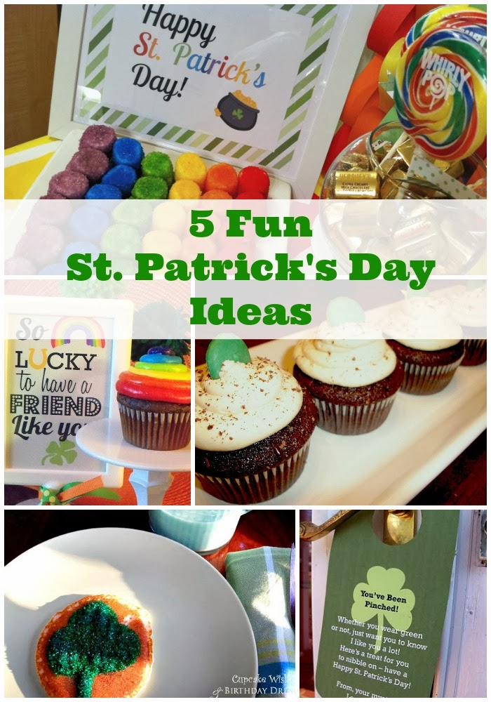 Cupcake Wishes  Birthday Dreams {Holiday Round-Up} 5 Fun St
