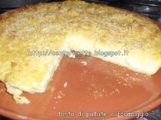 Torta di patate e formaggio