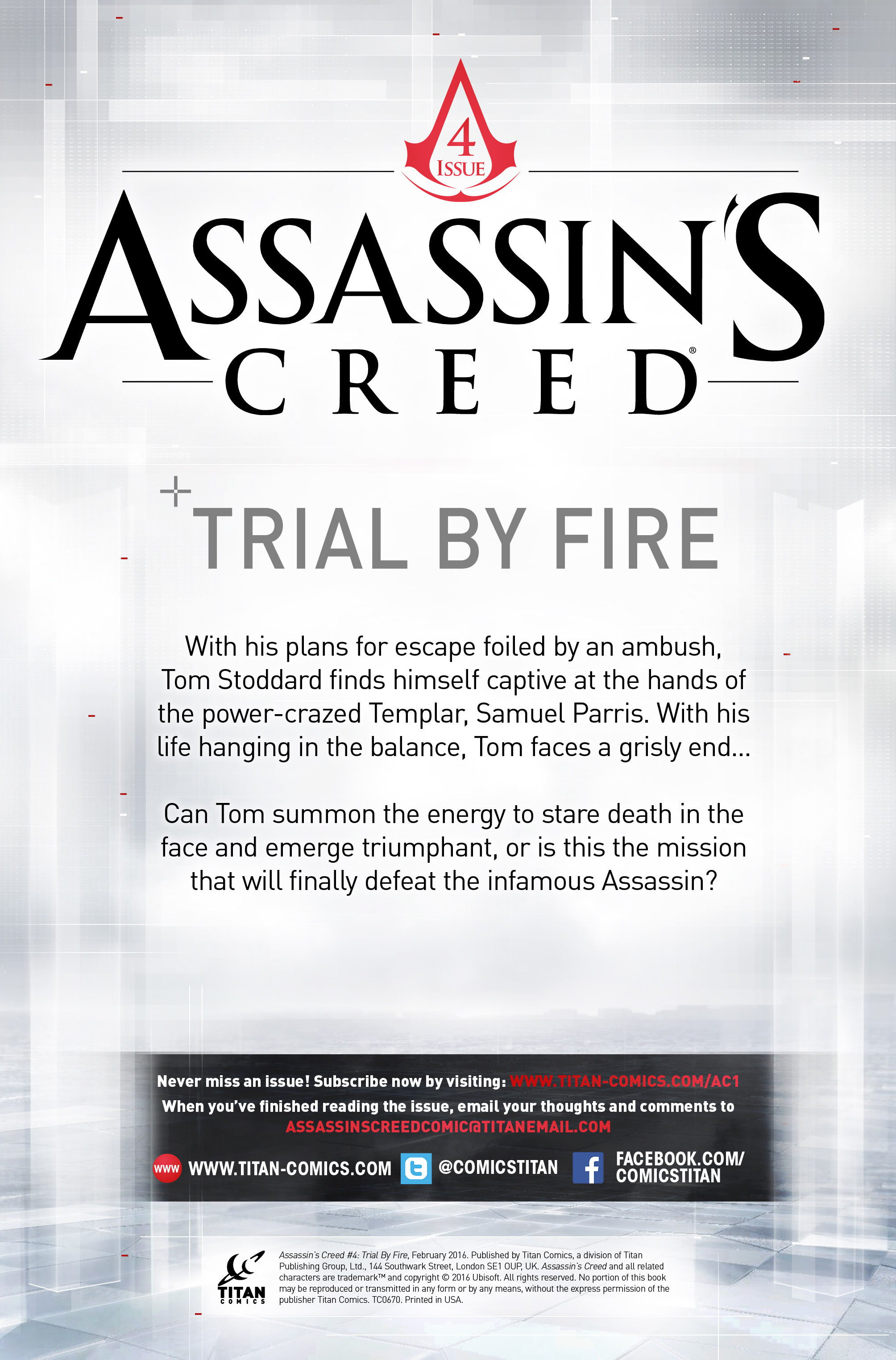 Read online Assassin's Creed (2015) comic -  Issue #4 - 2