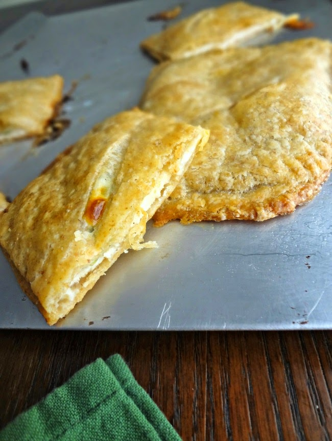 Turkey Spinach Provolone Pastry