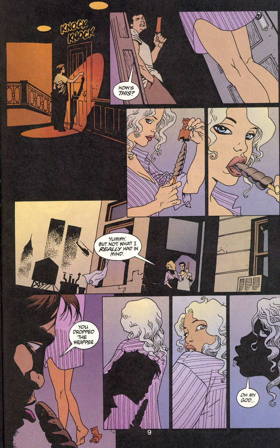 Read online 100 Bullets comic -  Issue #9 - 11