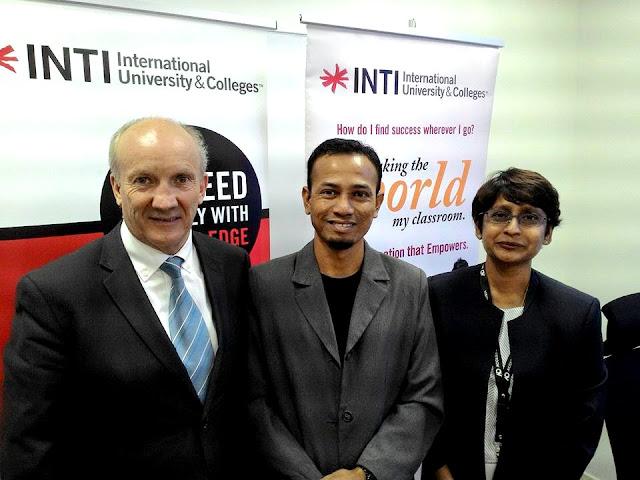 Allan Christie, Dr Malini Eliatamby, Khir Khalid