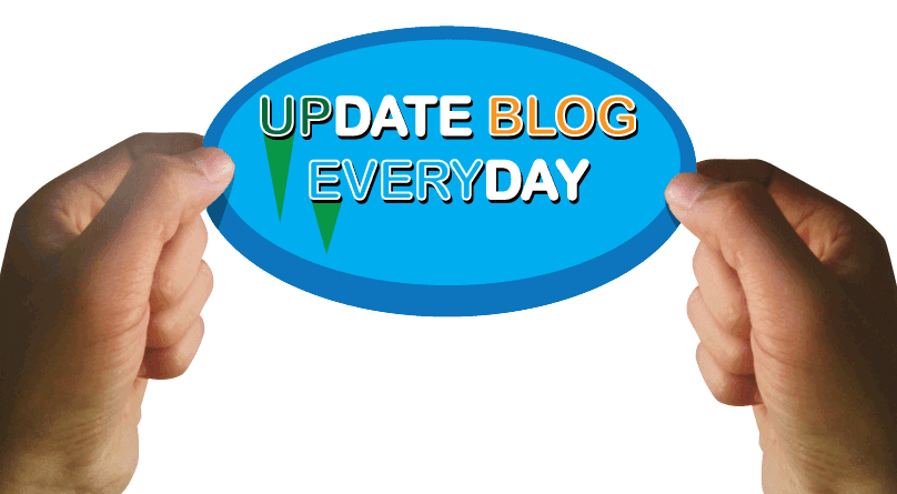 Update blog everyday