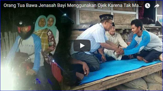 Orangtua Bawa Jenazah Bayi Menggunakan Ojek, Kepala Direktur RSUD Bima Minta Maaf