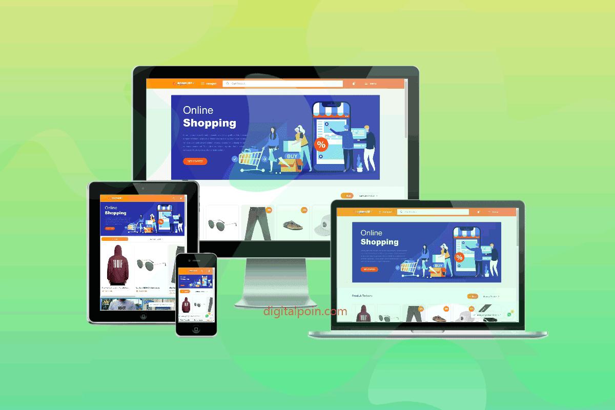 DigitalpoinSHOP Template Toko Online Blogger SEO Friendly Tidak Dijual :)