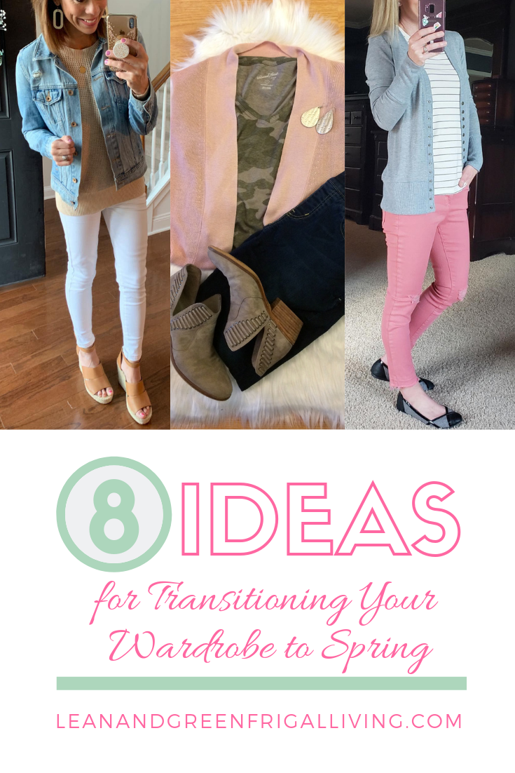 ideas for transitioning wardrobe to spring