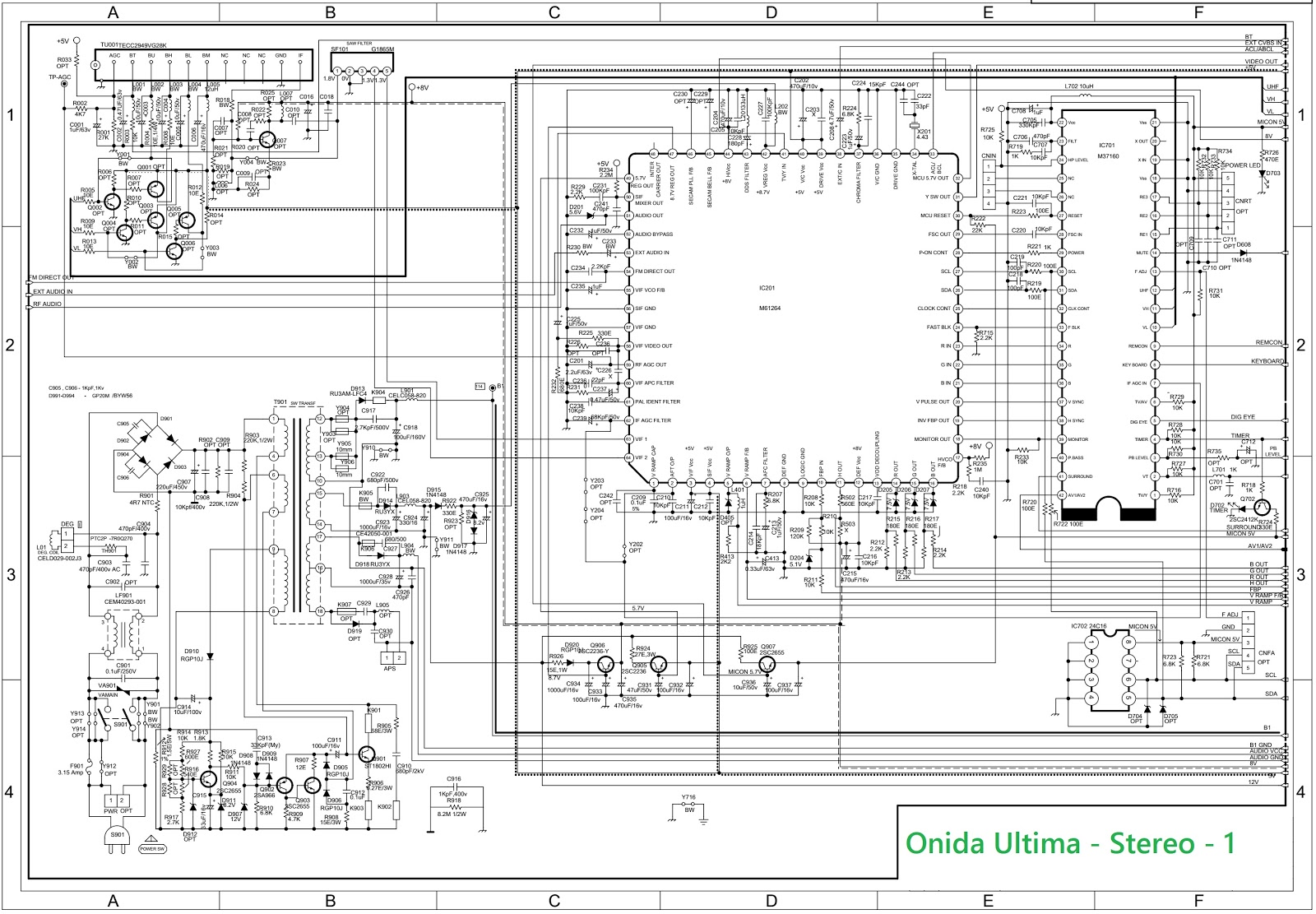 Onida Ultima - Stereo