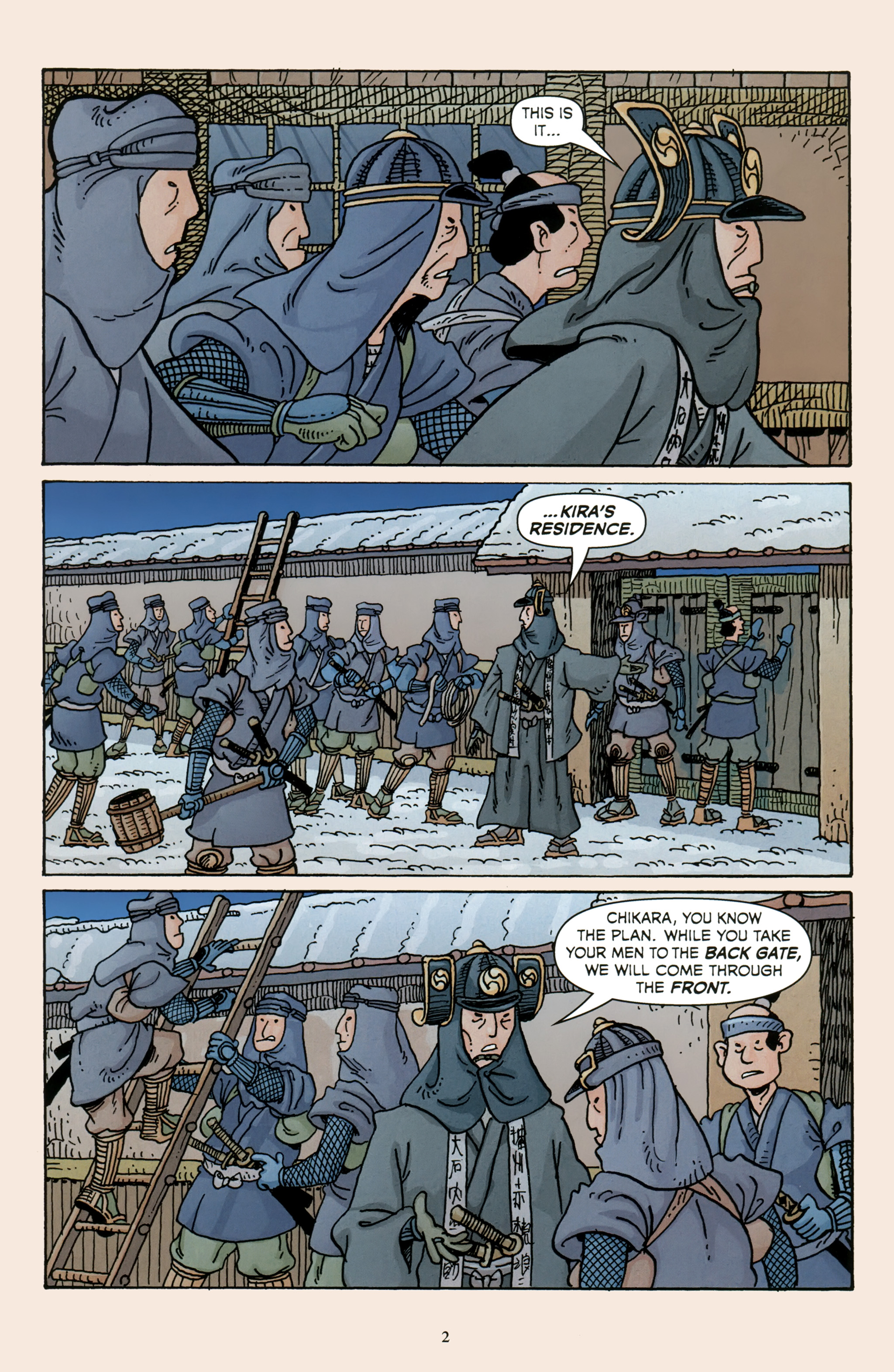 Read online 47 Ronin comic -  Issue #5 - 4
