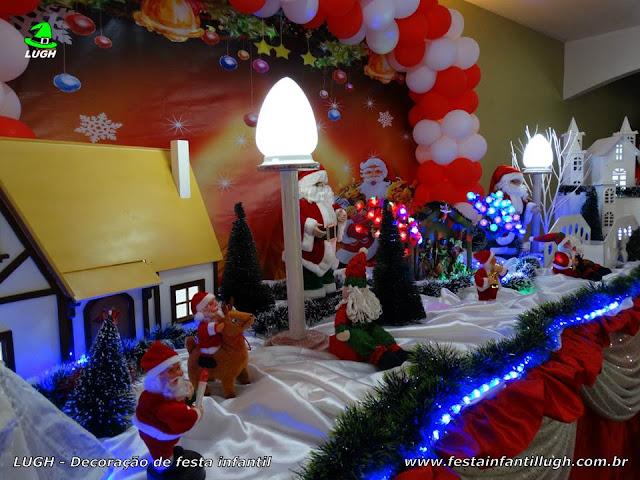 Decoração infantil tema de Natal