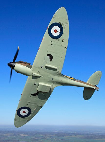 Supermarine Spitfire digunakan dalam Battle of Britain