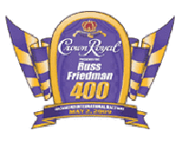 Crown Royal Presents the Russell Friedman 400 #NASCAR
