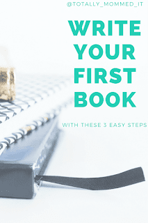 Write Your First Book in 3 Easy Steps