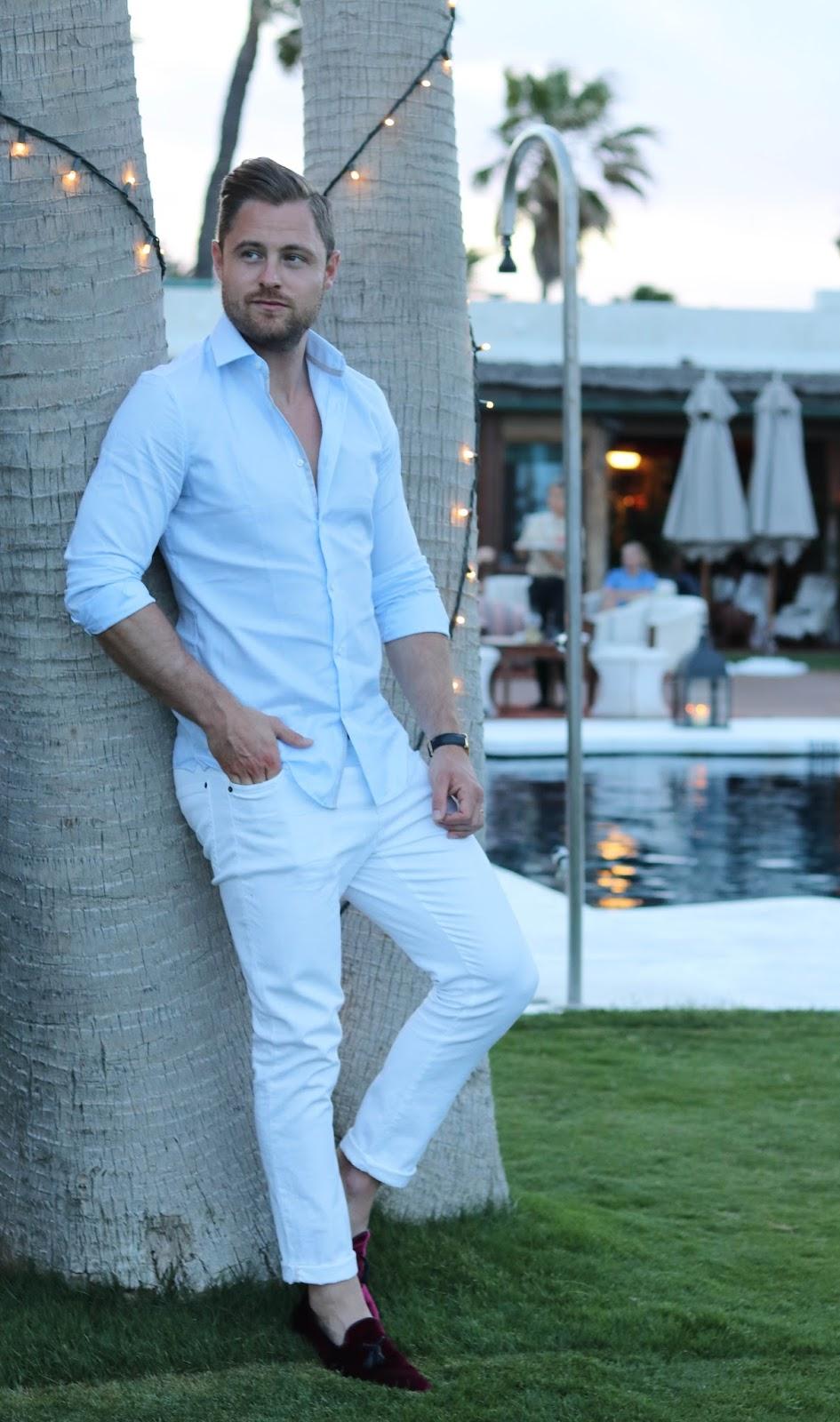 Next Menswear Shirt ASOS Shoes Sotogrande Spain