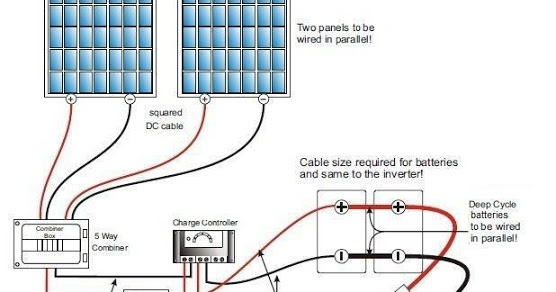 Solar Panels Wiring Diagram Elec Eng World
